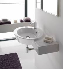 Wall Mount Bathroom Vanities by Ceramic Wall Mounted Sinks A Great Alternative For A Modern Bathroom