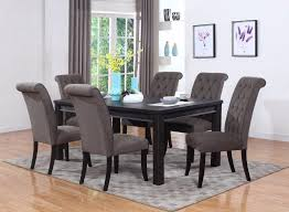 espresso dining table u2013 pacific imports inc
