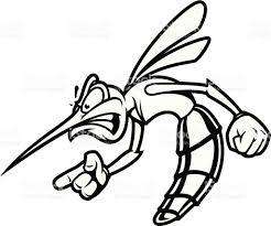 mosquito bandito bampw stock vector art 165638595 istock