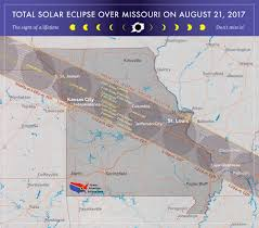 Map Of St Louis Missouri Eclipse U2014 Total Solar Eclipse Of Aug 21 2017
