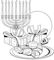 hanukkah coloring page picture beit hamikdash pinterest judaism menorah and hanukkah