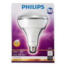65 Watt Equivalent Indoor Led Flood Light Bulb by Philips 423756 14 5 Watt 75 Watt Br40 Led Indoor Flood Light