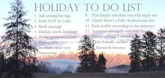 16 things to do before you go on holidays with your fox in