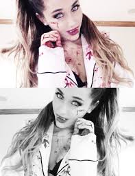 Ariana Grande Costumes Halloween 8 Selfies Images Beautiful Celebrities