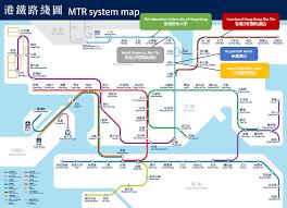 Hong Kong Metro Map by Wera Hkera 2017 Accommodation
