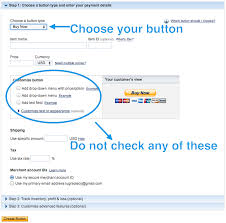 get paypal button code support