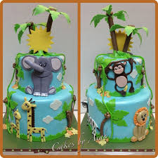 jungle baby shower cakes jungle cakes baby shower cake cake ideas jungle