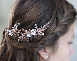 south indian bridal hair accessories online gold hair clip etsy