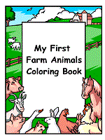 farm animals coloring pages printable activities 1