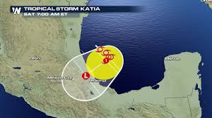 Vera Cruz Mexico Map by Tropical Storm Katia Forms In The Gulf Of Mexico Weathernation