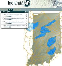 Indiana lakes images Indiana lakes map indiana map jpg