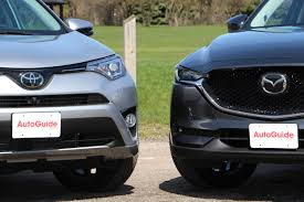 mazda types 2017 toyota rav4 vs 2017 mazda cx 5 comparison autoguide com news