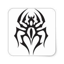 spider tattoo stickers zazzle