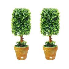 Pre Lit Topiary St 2 Sizes Can Be Selected Bonsai Artificial Plant Decor Topiary