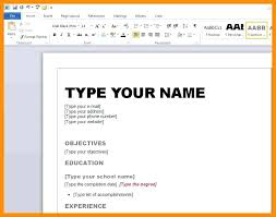 student resume template word 2007 word resume template 2007 medicina bg info