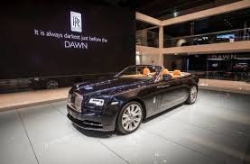 roll royce night rolls royce dawn convertible coupe debuts at frankfurt motor show