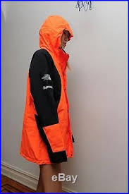 The North Face Mountain Light Jacket Supreme The North Face Mountain Light Tech Jacket Orange Sz M