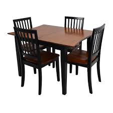 bobs furniture round dining table dining rooms superb bobs dining tables i purchased a pine bob