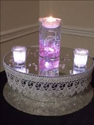 light pink votive candle holders rental cp40 cylinder vase and lace wrapped votives with pink