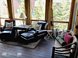 Cozy Sunroom Makeover Screened In Porch Turned Sunroom White Arrows Home