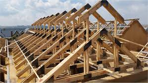 Prefabricated Roof Trusses Roofing Timber U0026 Construction Of A Truss Roof Edit