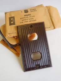 restoration hardware light switch plates art deco bakelite 6 gang 6 light switch plate brown by cookiebabe