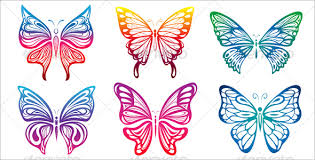 20 printable butterfly templates free pdf psd designs creative