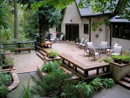 Backyard Deck Design Ideas Decks Deck Idea Pictures