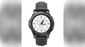 samsung x tumi gear s3 frontier special edition smartwatch photos
