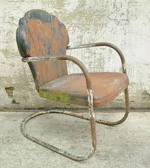 Vintage Patio Furniture Metal by 9 Best Vintage Metal Lawn Chairs Images On Pinterest Lawn