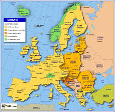 map of europe free map of states of the european union nations project