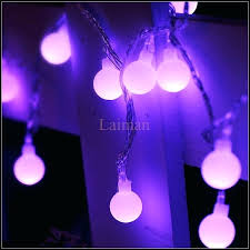 halloween purple led string lights purple led string lights ball holiday decoration l festival