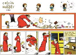 calvin and susie calvin and hobbes hobbs comic and