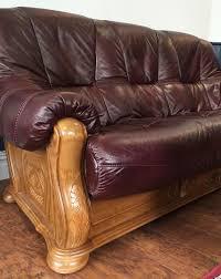 furniture gorgeous burgundy leather sofa for living room idea
