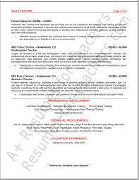Preschool Teacher Resume Sample by Preschool Teacher Resume Tips And Samples Free Creative Resume
