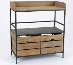 console pour cuisine meubles métal bois industriels meuble amadeus