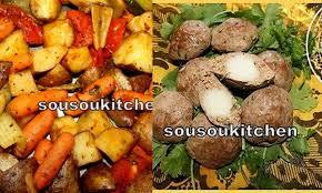 cuisine de sousou viande p de terre et légumes grillés recette de choumicha cuisine