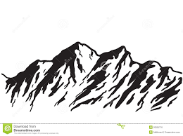 mountain and trees clipart collection