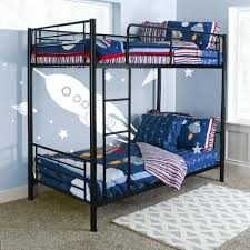 Walmart Bedroom Furniture Bedroom Black Metal Walmart Loft Bed With Cozy Mattress For