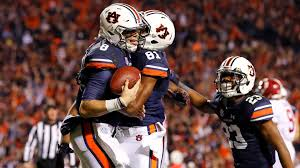 college football auburn upends no 1 alabama no 5 wisconsin