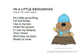 groundhog day cards groundhog day activities printable song card
