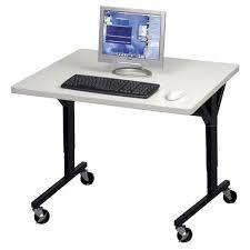 adjustable height training table balt 89847 adjustable height brawny training table 30 x 36