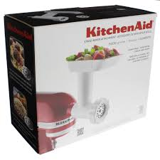 Kitchen Aid Ice Cream Maker Attachment by Kitchenaid Food Grinder Stand Mixer Attachment Shop Blenders And