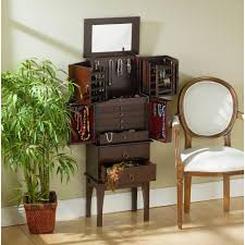 Oxford Jewelry Armoire Large Jewelry Armoire Cabinets U0026 Storage Compare Prices At Nextag