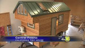 Tiny Houses For Sale California A Tiny House On Wheels With Two