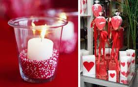candle centerpiece ideas candles centerpieces for valentines day table decoration