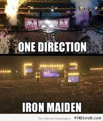 Iron Maiden Memes - 13 one direction versus iron maiden meme pmslweb
