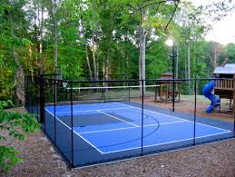 backyard ideas sports field game court ideas guide install