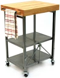 furniture cheap movable kitchen island with metal shelves and