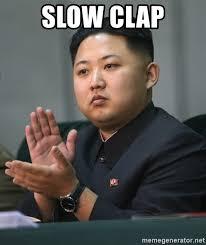 Slow Clap Meme - slow clap meme 28 images community slow clap gif find share on